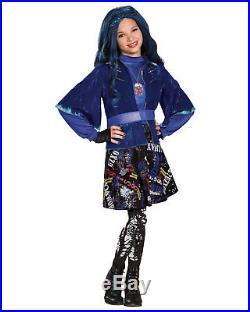 Morris Costumes Girls Evie Isle Lost Deluxe Print Skirt 10-12. DG88116G