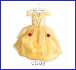 NEW Disney Store Belle Costume Dress Size 4