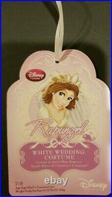 NEW Disney Store RAPUNZEL WEDDING GOWN Costume 7/8