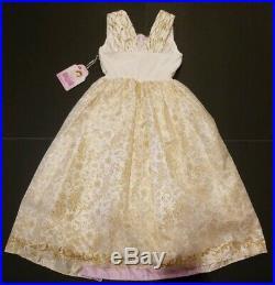 NEW Disney Store RAPUNZEL WEDDING GOWN Costume 7/8 Girls med