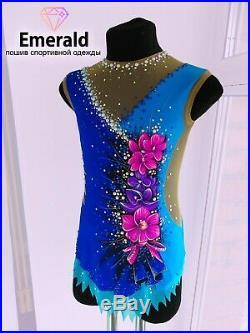 NEW Rhythmic Gymnastics leotard, Size 125-130 cm (height)