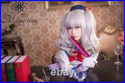 NEW milky time Kantai Collection Fleet Girls Kashima Kaze Cosplay Costume M size