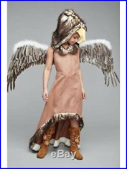 NWT Chasing Fireflies Regal Eagle Size 14/16 Costume with Wings