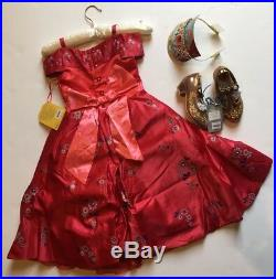 NWT Disney Store 4 4T Deluxe Elena of Avalor Costume Dress Tiara Scepter & Shoes
