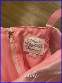NWT Disney Store Signature Sleeping Beauty Princess Aurora Dress Costume Girls 4