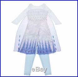 NWT FROZEN II 2 Disney Parks Store Deluxe Elsa Snow White Purple Dress 6x/7