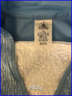 NWT FROZEN II 2 WDW Disney Parks Store Deluxe Elsa Blue Traveling Dress 7/8
