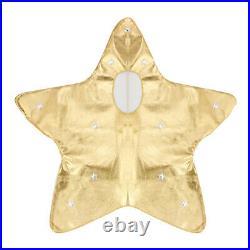 Nativity Christmas Kids Gold Star Costume Boys Girls Xmas Fancy Dress Outfit