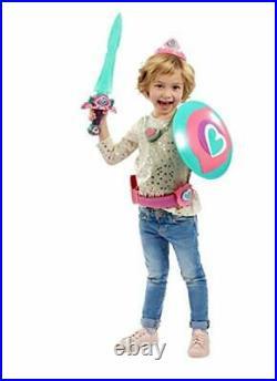 Nella Princess Knight Mega Playset Sword Belt Tiara Costume Dress Up Girls