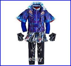 New Disney Store Descendants Evie Costume for Girls5/6 Jacket, Leggings, gloves