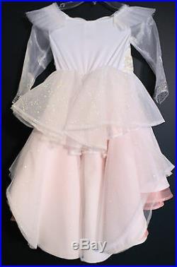 New Disney Store GLINDA Oz Great & Powerful Deluxe Costume Dress XS 4