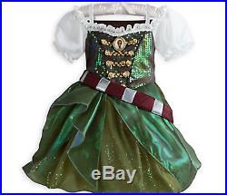New Disney Zarina Tinkerbell Tink Pirate Fairy Costume Dress Sword Girls M 7 8