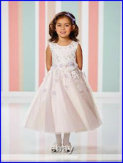 New Joan Calabrese Ivory Lander Girls Fancy Special Occasion Dress 216308 Size 4