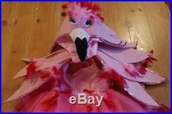 New Pottery Barn Kids Pink FLAMINGO Costume Dress Girls Kids 7-8