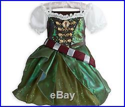 Nwt Disney Zarina Tinkerbell Tink Pirate Fairy Costume Dress Belt Sword Girl 5 6