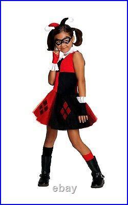Official Girls Suicide Squad HARLEY QUINN TUTU Fancy Dress Costume Halloween Kid