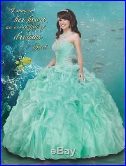 Original Disney Royal The Little Mermaid Ball Gown