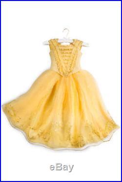 Original Disney Store Belle Limited Edition Dress Beauty Beast Girl Size6