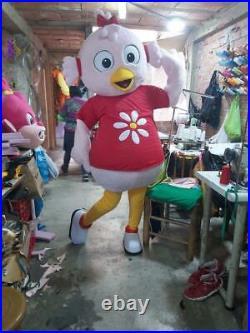 Pata Lulu Girl Duck Animal Mascot Costume Character Cosplay Halloween Party