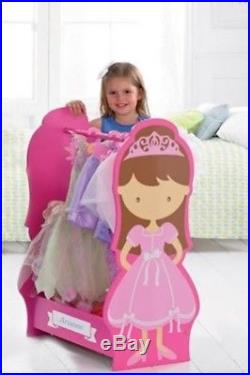 Personalized Princess / Kids / Childrens Dress Up Rail H86.5 x W60 x D45.7cm S