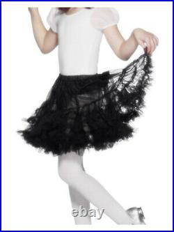 Petticoat, Child, Black