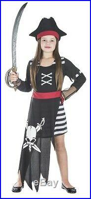 Piratin Kinder Kostüm Größe S Mädchen Karneval Seeräuberin 50122