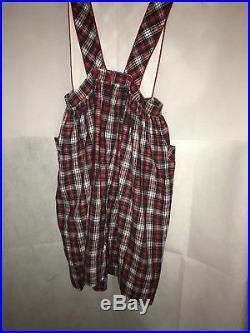 Pleasant Company CHILD SIZE Molly School Jumper Dress American Girl Size 16