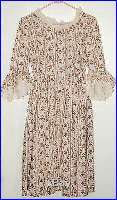 Pleasant Company Child Size 14 Felicity Dress Matches Doll Outfit American Girl