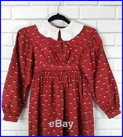 Pleasant Company Girls Kirsten Prairie School Dress American Girl Sz 10 RARE