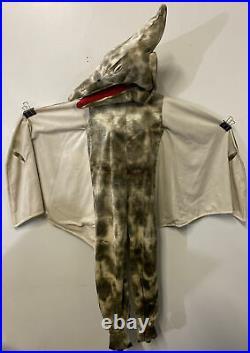Pottery Barn Kids Boy Girl Pterodactyl Dinosaur Costume Size 7/8