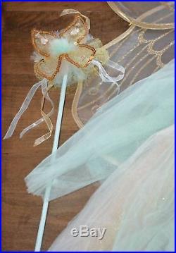 Pottery Barn Kids Butterfly Fairy Halloween Costume Mint 7-8 Years #3003