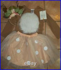 Pottery Barn Kids Halloween Woodland Deer Tutu Costume 7 8 Years #7106