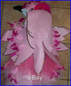 Pottery Barn Kids Pink Flamingo Halloween Costume Tutu 3T #1819