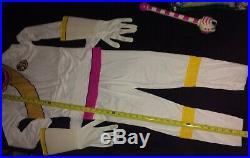Power Rangers 2002 Wild Force White Ranger Halloween Costume For Girls