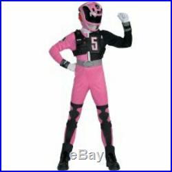 Power Rangers SPD Deluxe Pink Ranger Child Costume Size 7-8 Medium New Girls