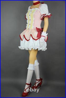 Puella Magi Kaname Madoka Magica Magical Girl of Magus Cosplay Kostüm Full Set