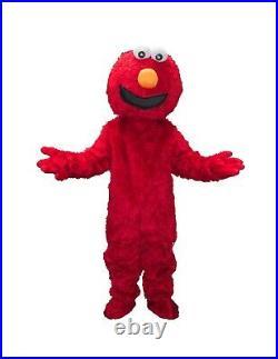 RENT Red Elmo Adult Mascot Costume Halloween Party Birthdays Boys Girls Events
