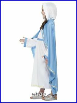 Redline Girls Luxury Virgin Mary Costume Nativity Christmas Fancy Dress Schoo