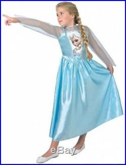 Rubie'S Childrens Fancy Dress Elsa Frozen Girl's Blue Size 164