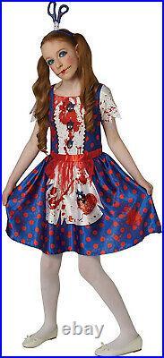 Rubie's Official Rag Doll Halloween Girls Costume, Fairytale Horror