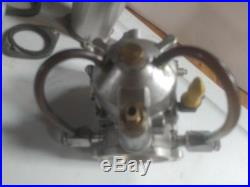 S & s super D carburator with 2 thunderjets dragbike racing harley