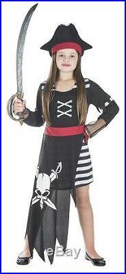 Seeräuberin Kinder Kostüm Größe XL Mädchen Karneval Piratin 50122