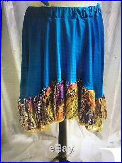 Set Of 5 Dance Costumes Cancan Flamenco Colourful Theatre Dance Group