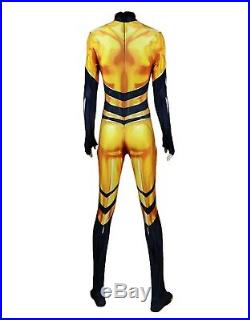 Simil Königin Bee Karnevalkleid Frau Mädchen Cosplay Ladybug Kostüm QUBEE01