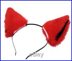 Simil Volpina Vestito Carnevale Donna Bimba Rena Costume Ladybug Rouge RENAR01 S