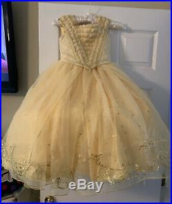 Size 5 Disney Store Limited Edition Beauty and the Beast Belle Dress Costume