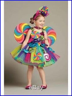 Sold Out Nwt Chasing Fireflies Wishcraft Candy Fairy Costume 12 Costume Only