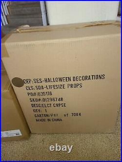 Spirit Halloween Electrified Corpse halloween prop