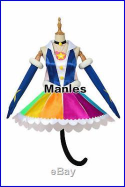 Star Twinkle Pretty Cure Costume Cure Cosmo Yuni Cosplay Lolita Fancy Dress Girl
