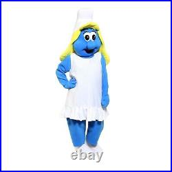 The Smurf Girl Costume Party Character Birthday Halloween Cosplay Event